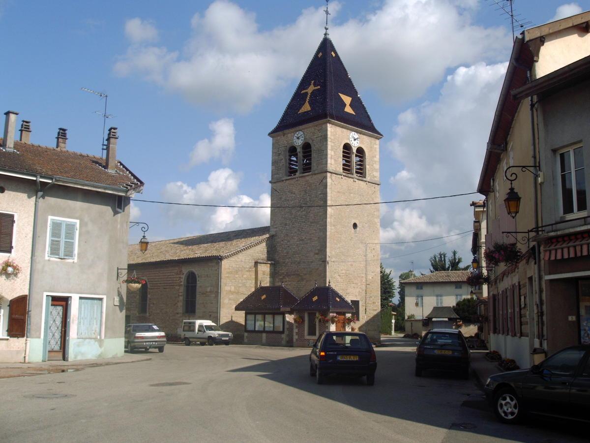 Vonnas-Kirche