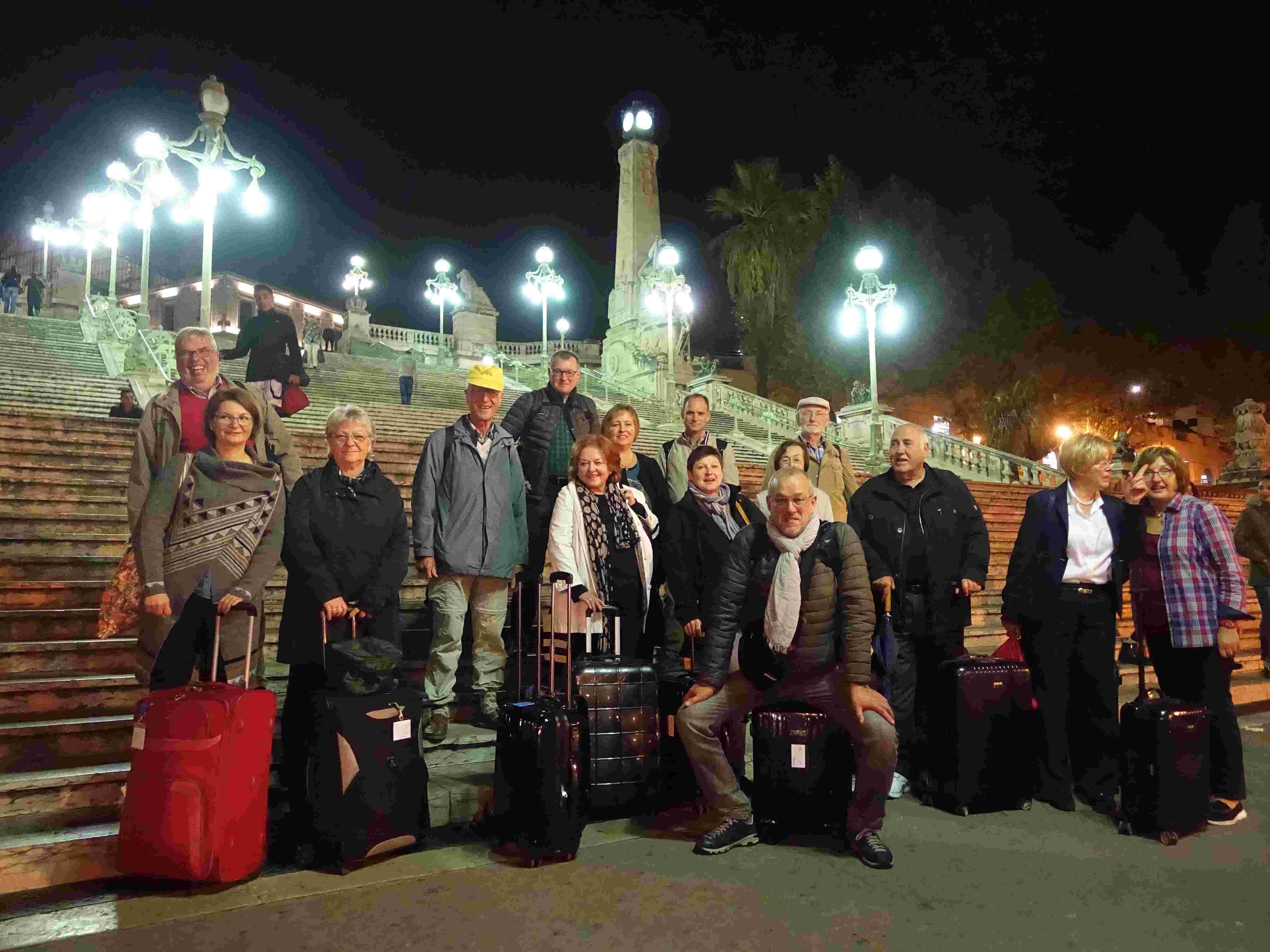 Ankunft in Marseille